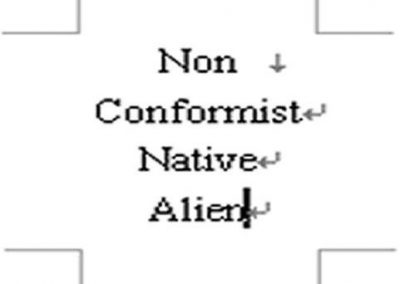 33403_non conformist native alien